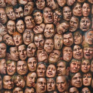 All of Us - huile sur toile - 200x160cm